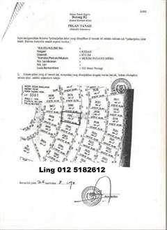 5726sqft Bungalow Land at Padang Meha, Padang Meha, Kulim