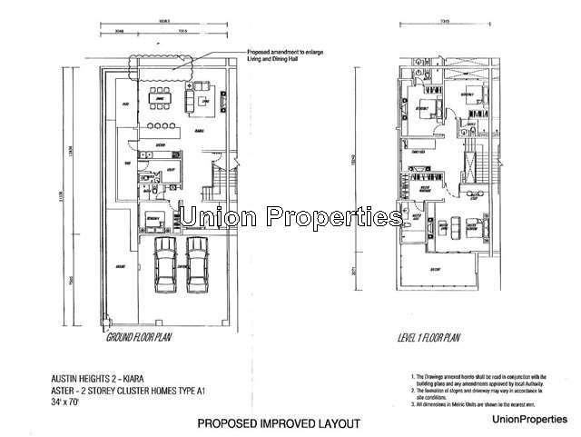 Johor bahru corner cluster house 4 1 bedrooms for sale for Home design johor bahru