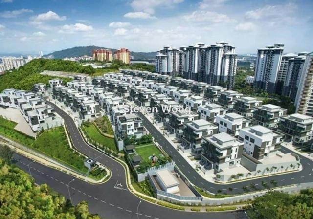 Desa Hills Villas, Desa Petaling