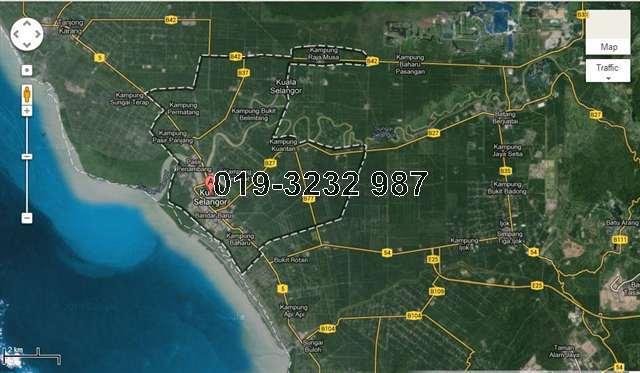 Kuala Selangor Land, Kuala Selangor