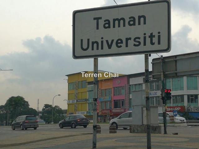 Taman Universiti, Mutiara Rini, Pulai Utama, Tun Aminah, Selesa Jaya, Taman Universiti, Mutiara Rini, Pulai Utama, Skudai