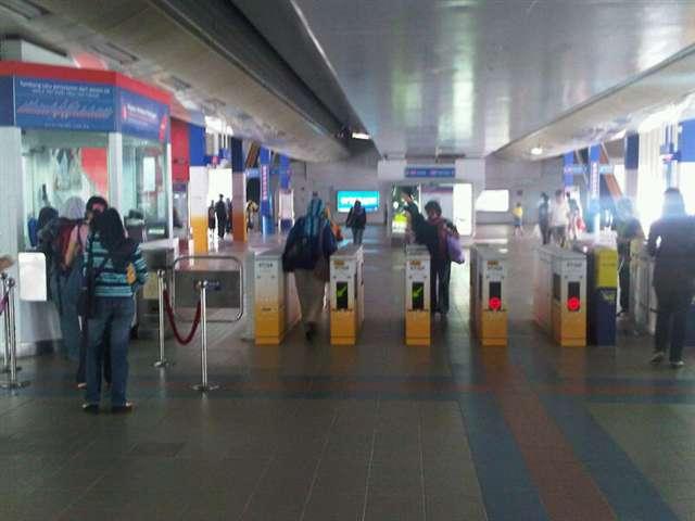 LRT- Train Station