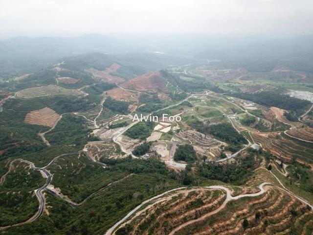 Agriculture Land In Karak Bentong Pahang, Kerau In Karak Pahang, Karak