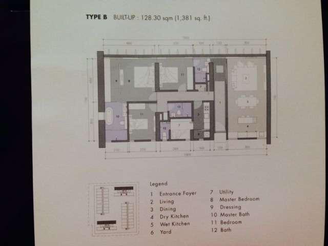 The Capers Sentul East Intermediate Condominium 2 1 Bedrooms For Rent In Sentul Kuala Lumpur Iproperty Com My