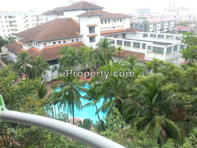 Apartment for Sale in Garden City Service Apartment Bandar Hilir