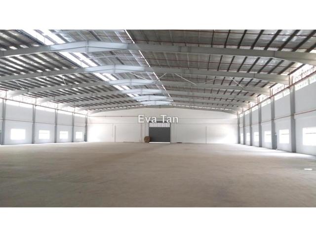 Johor Technology Park @ 600Amp Single Storey Detached Factory c/w 2 Mezzanine Floor for Sale, Senai, Johor Bahru, Senai