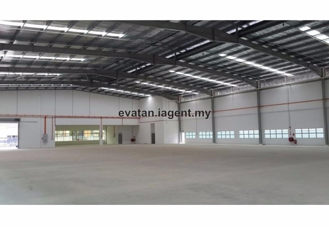 Kulai Indahpura 1000Am Power Supply Single Storey Detached Factory for Sale, Kulai
