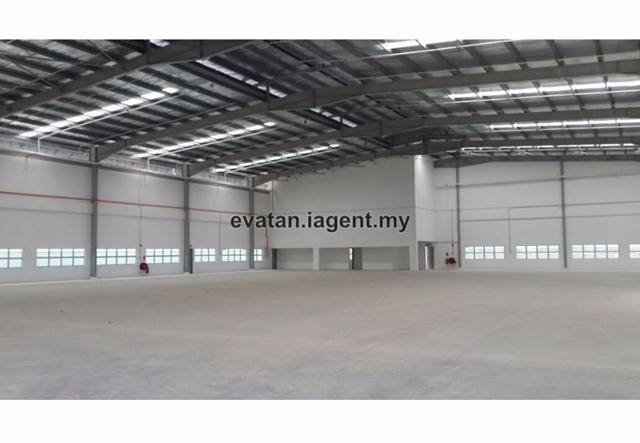 Single Storey Detached Factory c/w Mezzanine Floor with 600Amp For Sales, Kempas, Johor Bahru