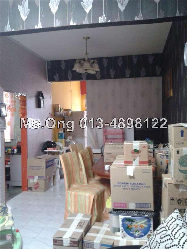 Bukit mertajam intermediate 2 sty terrace link house 4 for Terrace 9 penang