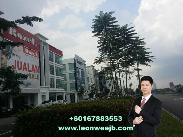 Permas Boulevard, Permas Jaya, JB, Permas Jaya