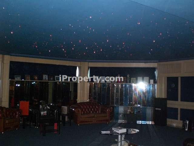 karoake room with sky ceiling