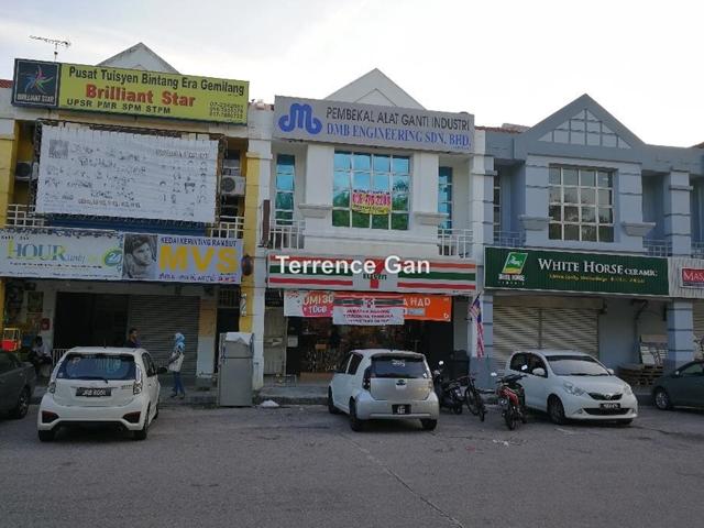 NUSA INDAH BUKIT INDAH 2 UNITS  SHOPS RENTAL INCOME RM7,000 GOOD TENANT 12 YEARS AGREEMENT, NUSA INDAH , Johor Bahru