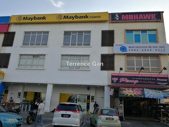 GELANG PATAH TAMAN NUSANTARA SAME ROW WITH MAYBANK JALAN NUSARIA 11/1 3 STOREY SHOP FOR SALE, Gelang Patah
