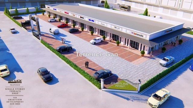 GELANG PATAH ISKANDAR PUTERI NEW 10 UNITS MODERN DESIGN SINGLE STOREY SHOP FOR RENT, GELANG PATAH , Johor Bahru
