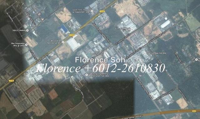 Seelong 8 Acres Industrial Land For Sale at Senai, Senai