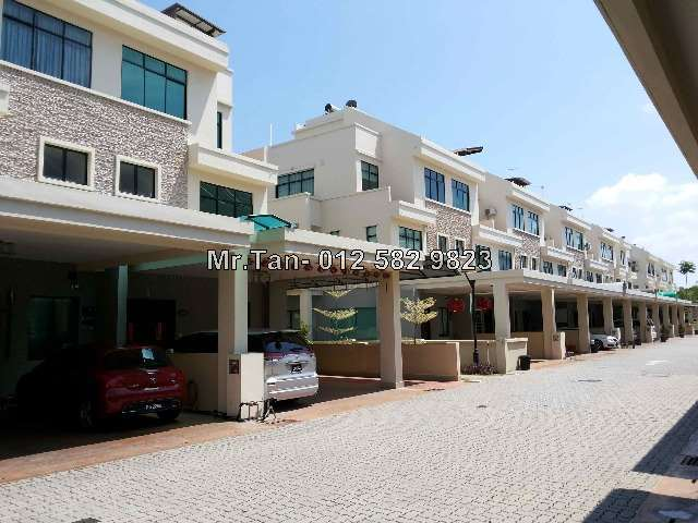 Butterworth raja uda 3 5 sty terrace link house 6 for Terrace 9 penang