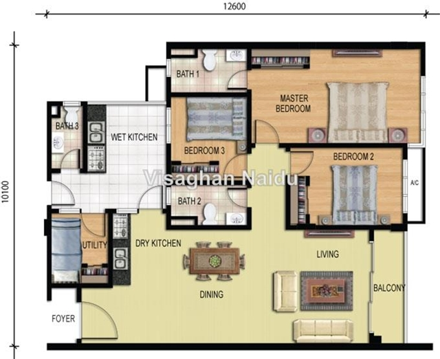 home floor plans with pictures condominium for in riverdale usj one park usj for 24022