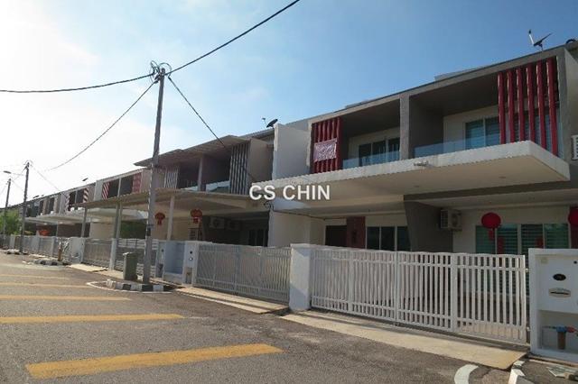 Bm utama bukit minyak 2 sty terrace link house 4 bedrooms for Terrace 9 penang