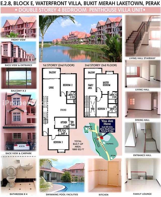 Block E, Bukit Merah, Perak, Bukit Merah Laketown Resort, Perak