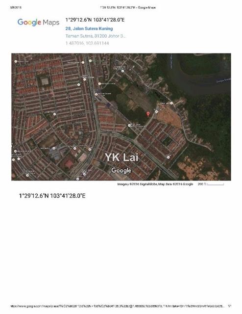 TAMAN PERLING commercial land, Taman Perling, Bukit indah, Johor Bahru