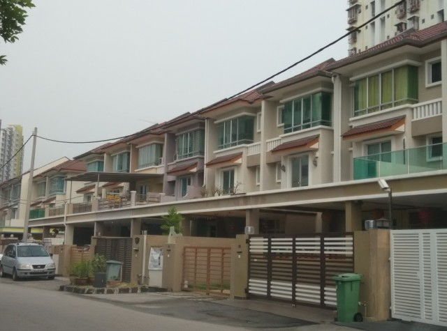 3 sty terrace link house for sale in relau for rm for Terrace 9 penang
