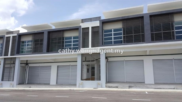 Double storey shop office @ Kempas Lama, Johor Bahru, Kempas, Johor Bahru