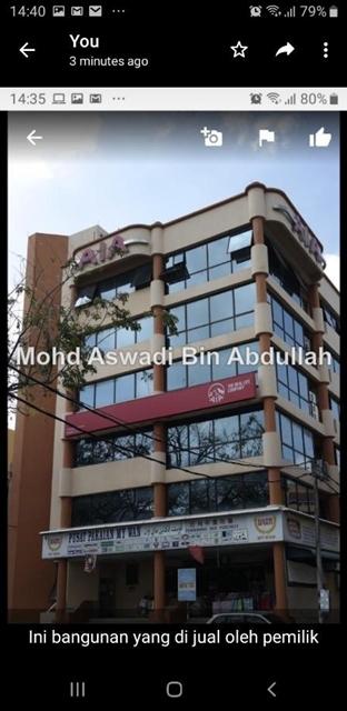 Bangunan Kota Bharu untuk  di jual (Free Hold), Kota Bharu