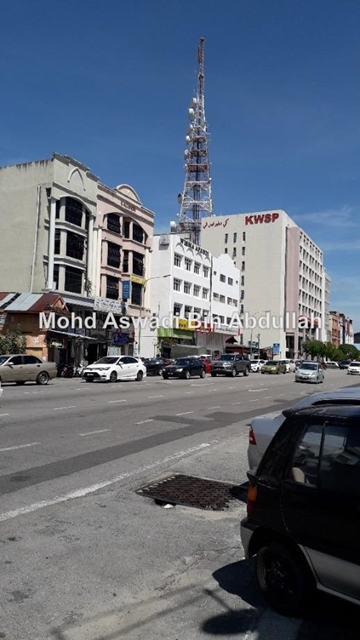 Sebelah klinik Balkis, Kota Bharu