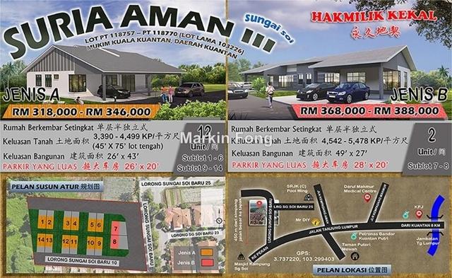 Suria Aman III @ Sg Soi, Kuantan