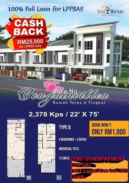 Putrajaya South Booking RM1000 100% Loan TC, Putrajaya