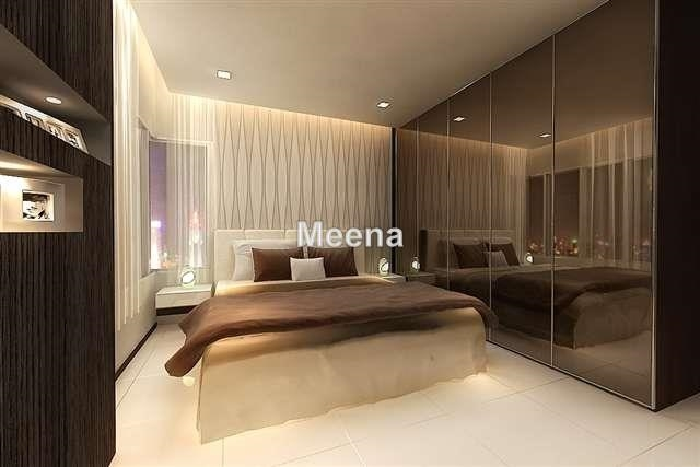 Condominium for sale in the sentral residences kl sentral for Bedroom design malaysia