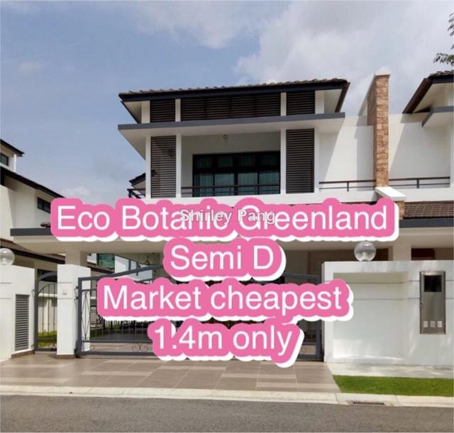 Eco Botanic Semi D, Iskandar Puteri (Nusajaya)