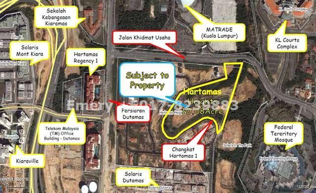 Land,Mont Kiara,KLCC,, Kuala Lumpur