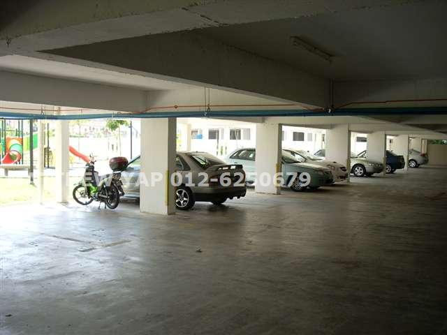 Covered car park
