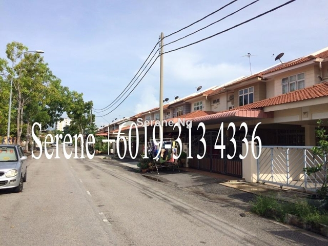 Bagan lallang butterworth corner 2 sty terrace link house for Terrace 9 penang