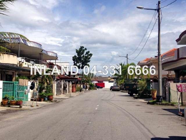 Taman cantek butterworth intermediate 2 sty terrace link for Terrace 9 penang