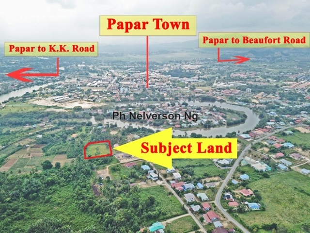 Papar Land, Papar
