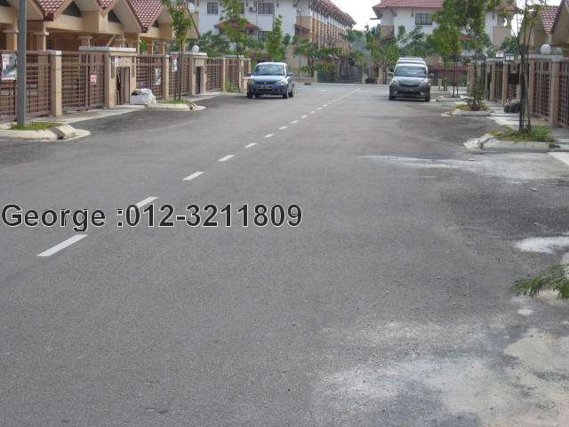 spacious access road