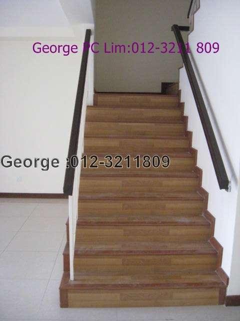 spacious staircase
