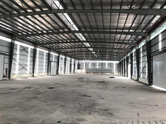 Klang Newly Completed Detached Factory Warehouse, Sungai Kapar, Klang