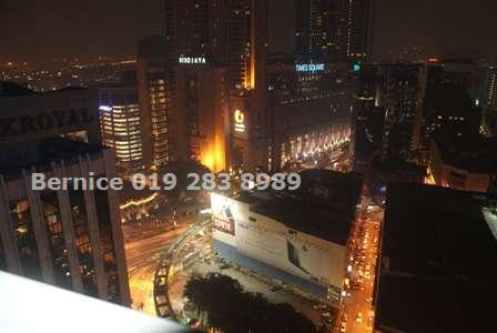 Night KL city view