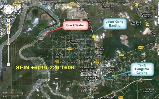 10.48 Acres Black Water With Road Access, Port Klang,Telok Panglima Garang, Banting