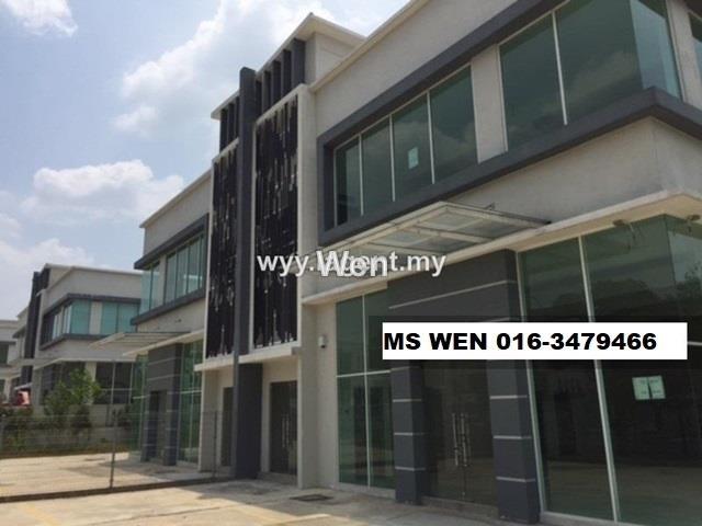 Kawasan Perindustrian Bukit Rawang Jaya , 2 Storey Semi Detached Factory, Rawang