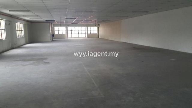 Balakong 2 storey factory, la: 4800 sqft bu: 4800 sqft, Balakong