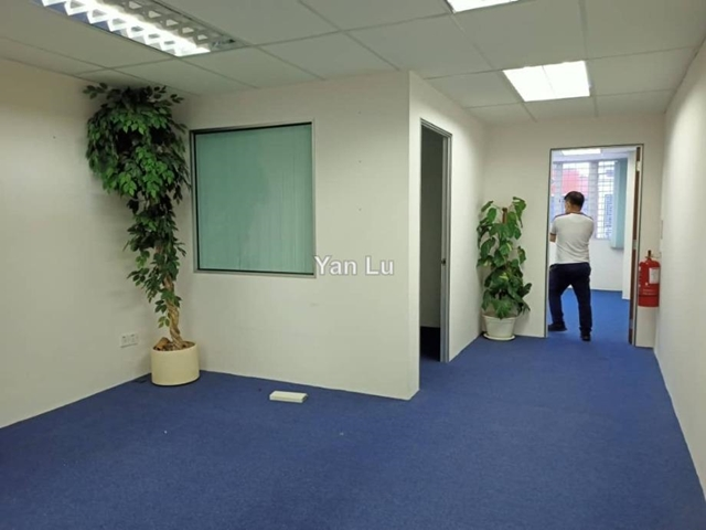 [Office] Partly Furnished, Rampai Business Park, Sri Rampai, Setapak