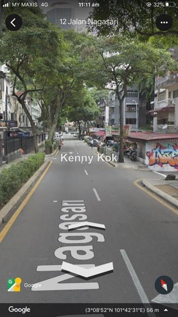 Corner shop lot double story, Bukit Bintang