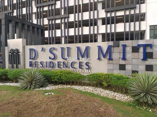 D'Summit Residences, Taman Kempas Utama, Skudai