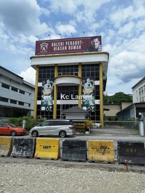 Persiaran Industri, KIP, Sri Damansara, Sungai Buloh, Kepong, Bandar Sri Damansara