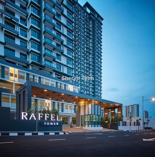 Raffel Tower, Gelugor