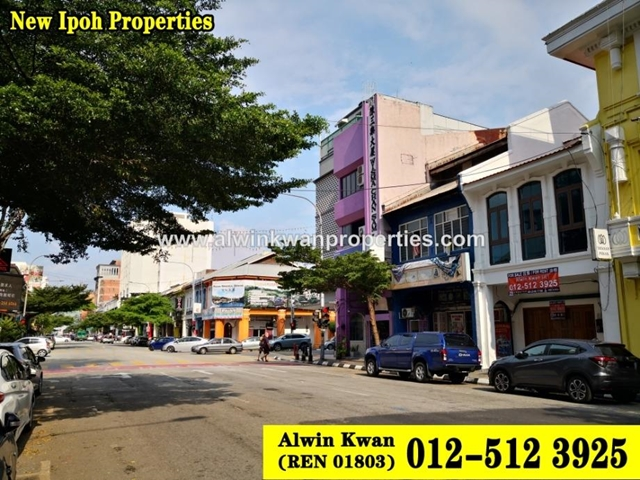 Ipoh Town Centre,Jalan Sultan Idris Shah(Brewster Road), Ipoh